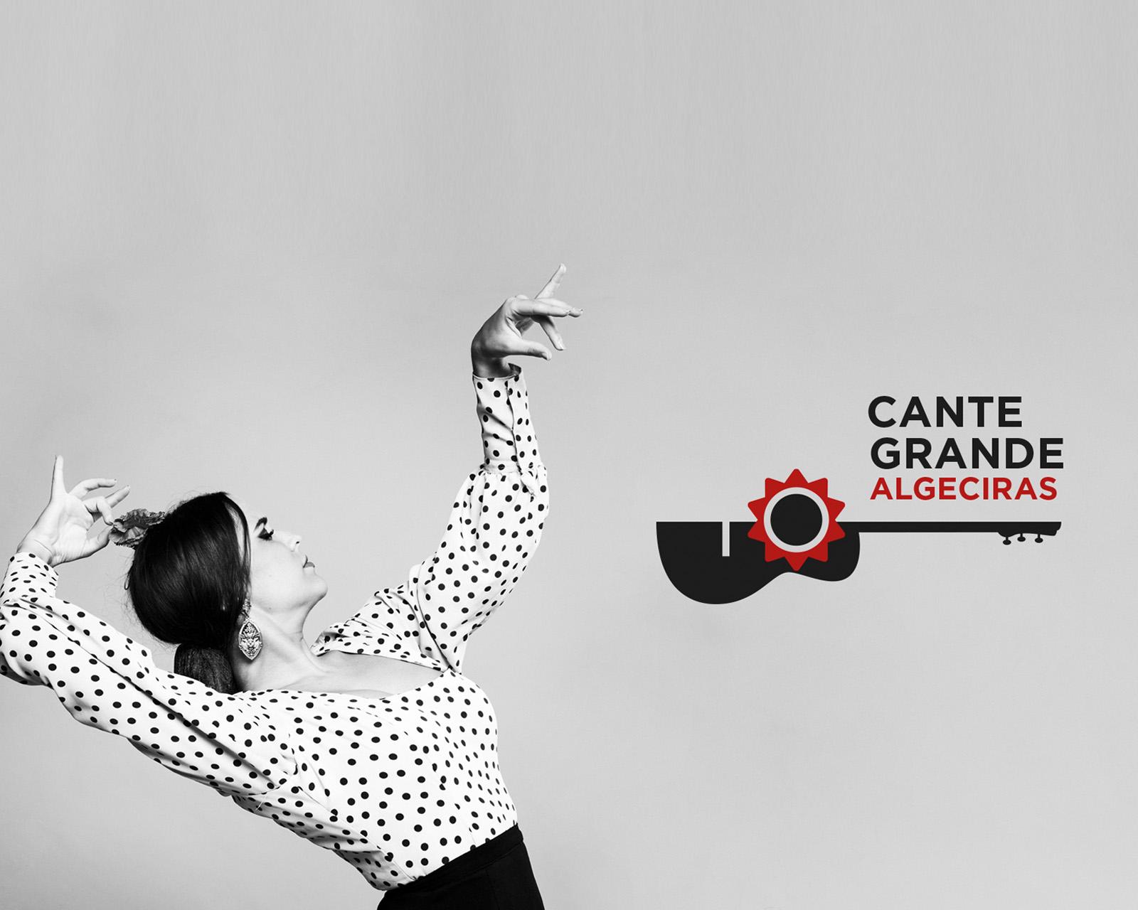 Logotipo cante grande flamenco